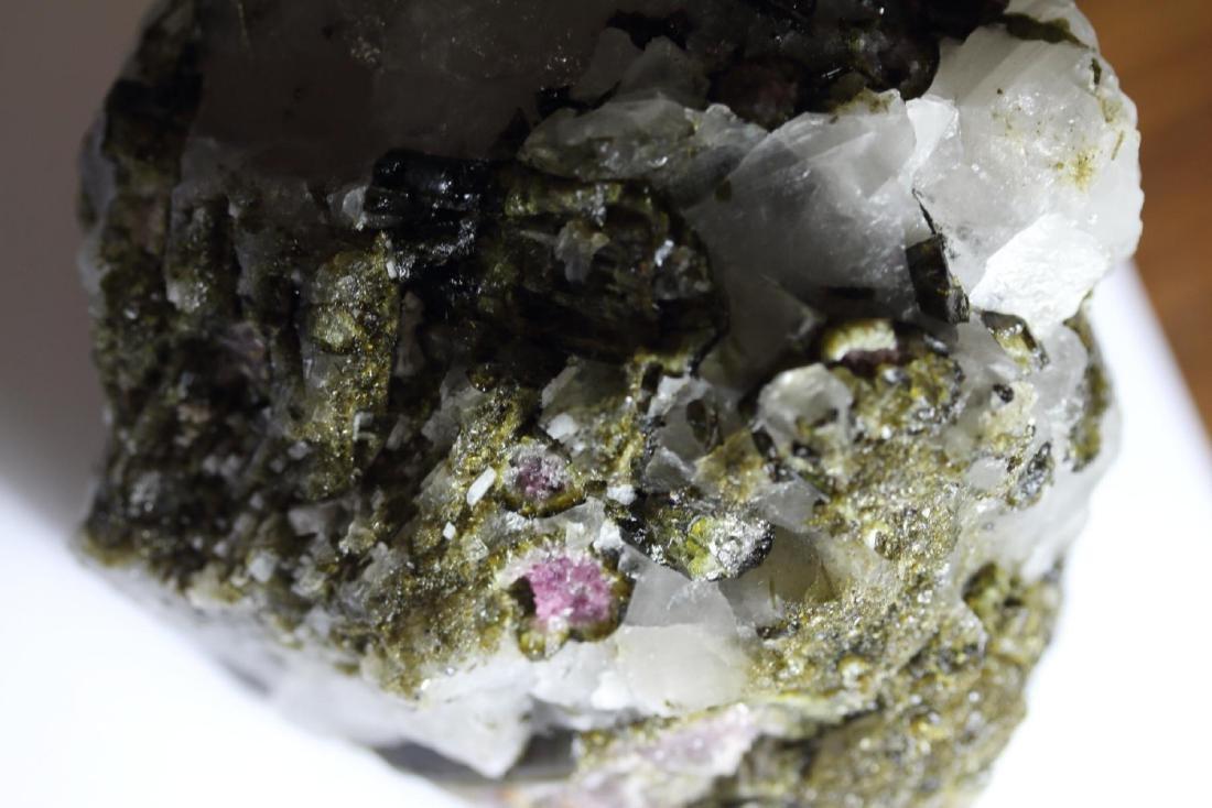 Natural Rough Green & Pink Tourmaline with Quartz 2 LBS - 4