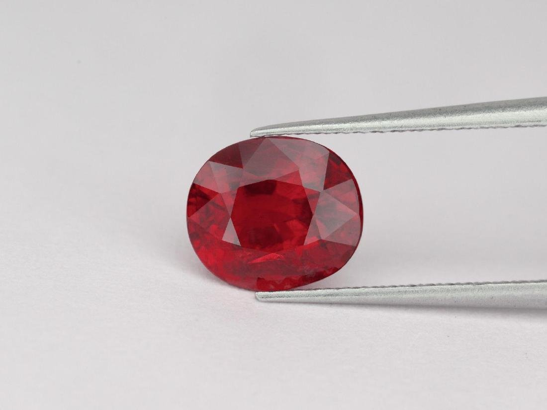 Natural Pigeon Blood Red / Vivid Red Ruby 1.59 Ct