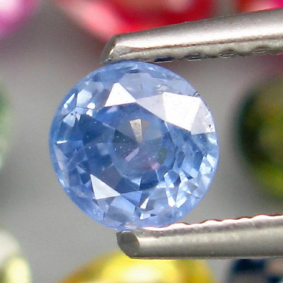 Natural  Fancy Color Sapphire 4.25 Cts - 2