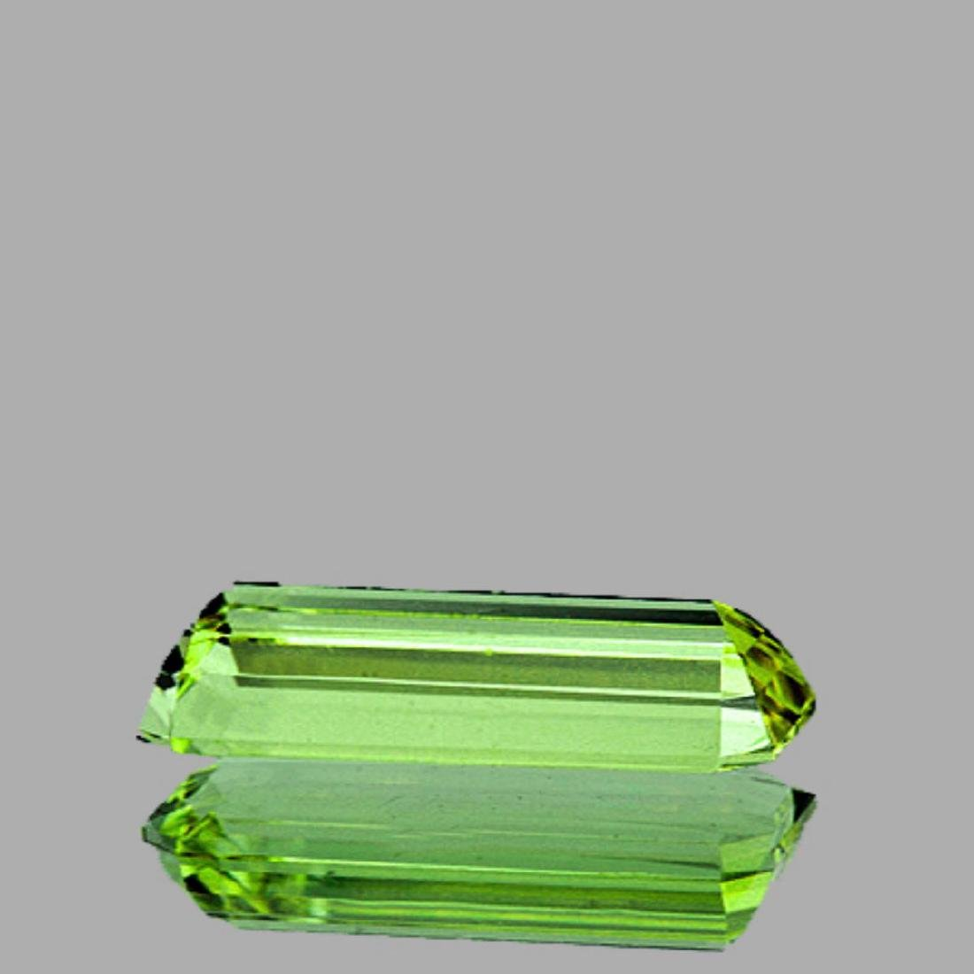 Natural Canary Green Apatite 8.90 Cts - VS - 2