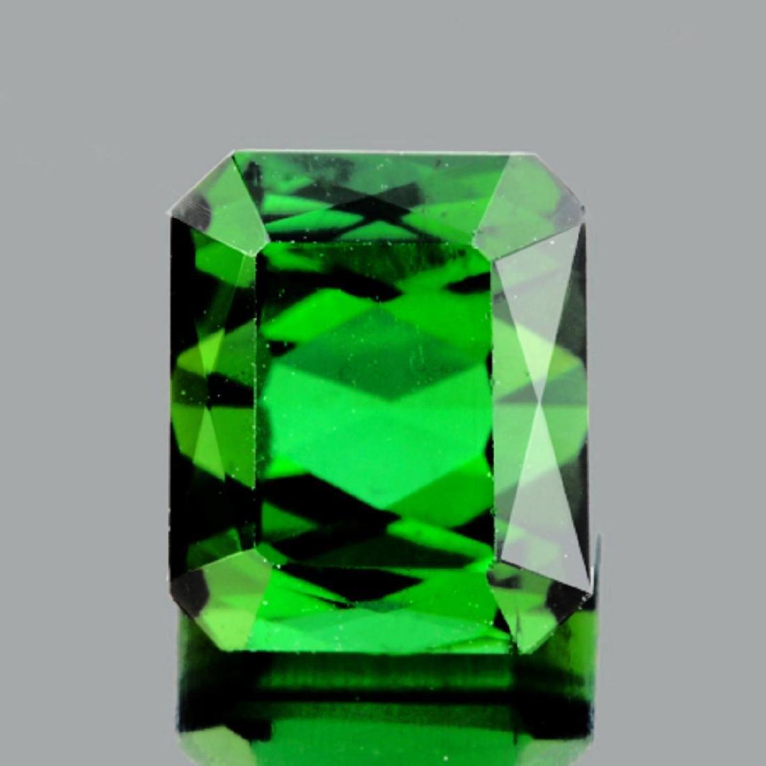 Natural Top Chrome Green Tourmaline 2.55 Cts - VVS