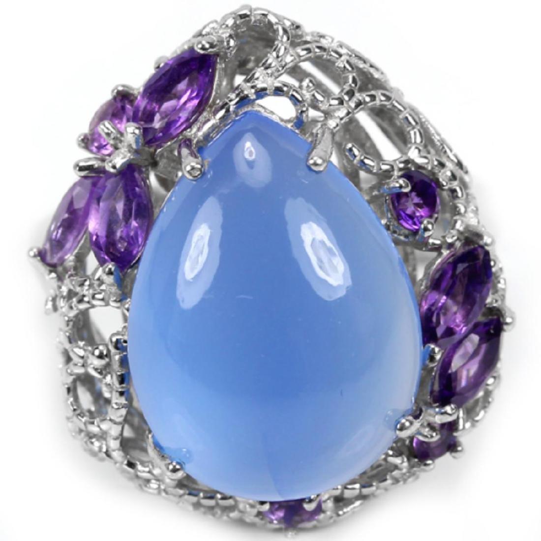 Natural Gemstone Ring - 2