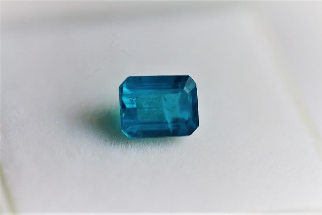 Natural Brazil Blue Apatite 1.32 Carats