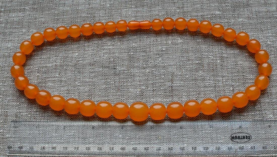 Vintage Natural Amber Necklace - 2