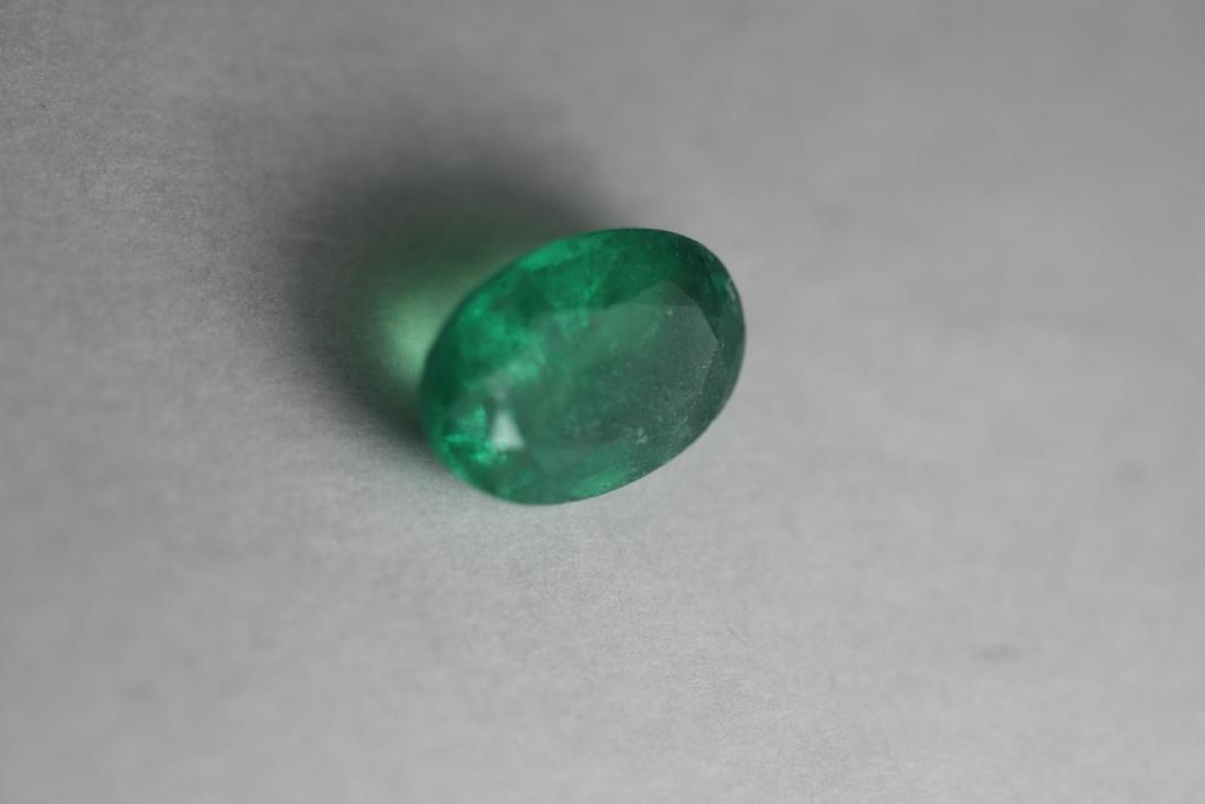 Natural Green Emerald 2.225 Carats - No Treatment