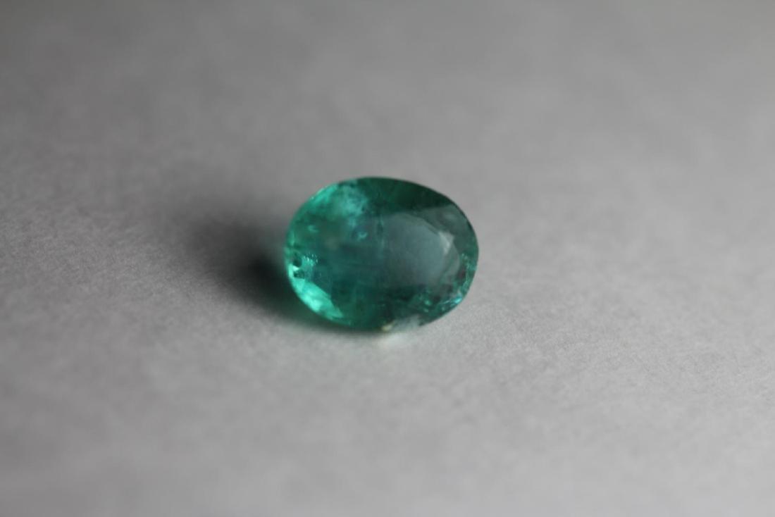 Natural Green Emerald 2.245 Carats - No Treatment
