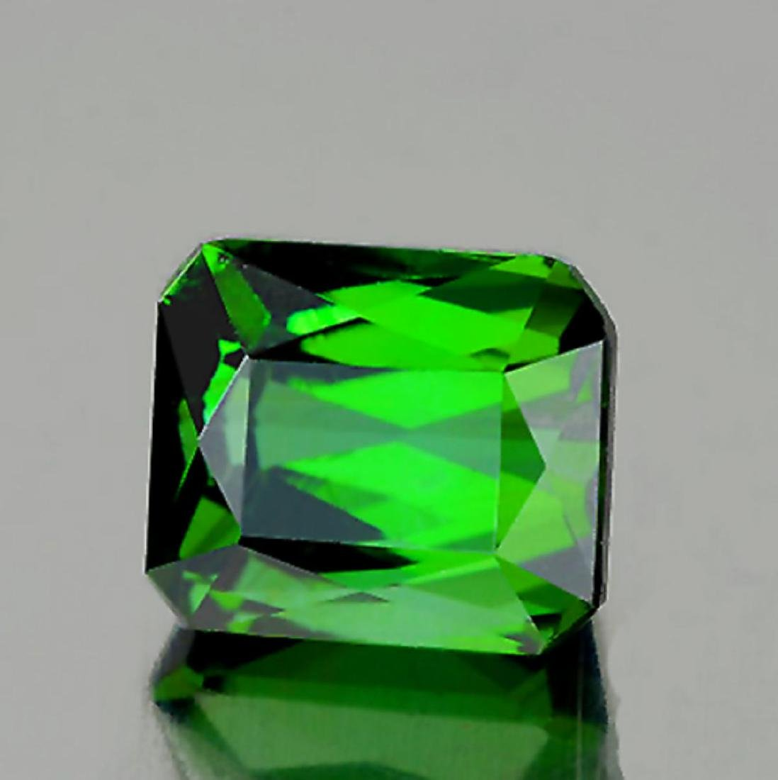 Natural AAA Chrome Green Tourmaline 2.76 Cts - FL