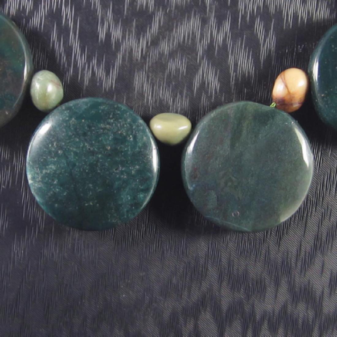 Natural MultiColor Pietersite Diamond Polished Necklace - 3