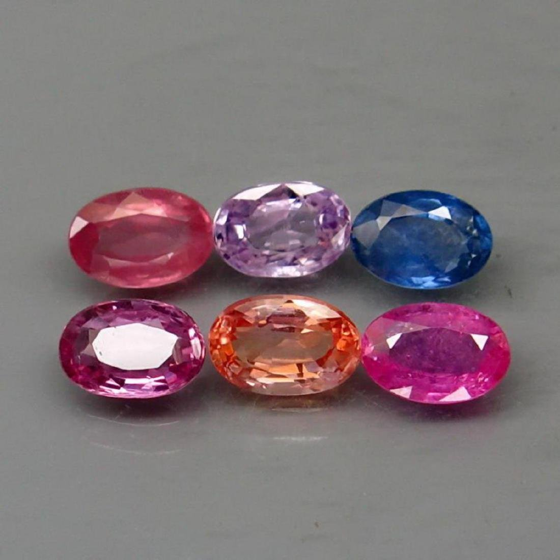 Natural Fancy Color Sapphire 3.64 Ct.