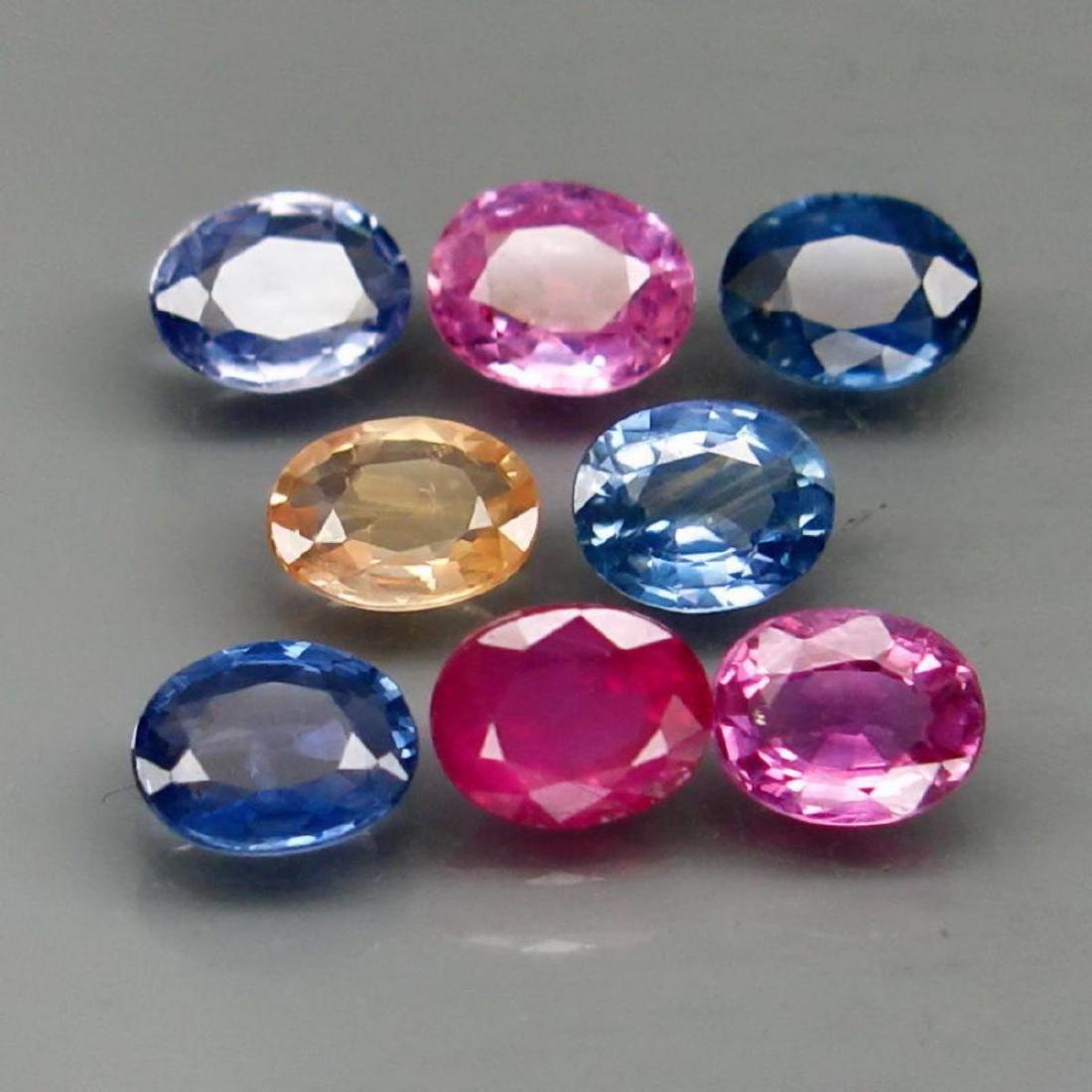 Natural Fancy Color Sapphire Madagascar 3.50 Ct.