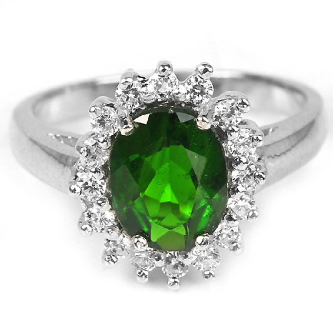 Natural Top Rich Green Peridot 296.64 Ct Bracelet