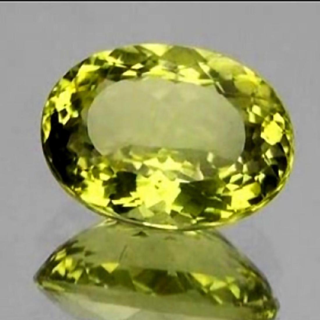 Natural Lemon Quartz 7.18 Cts - VVS