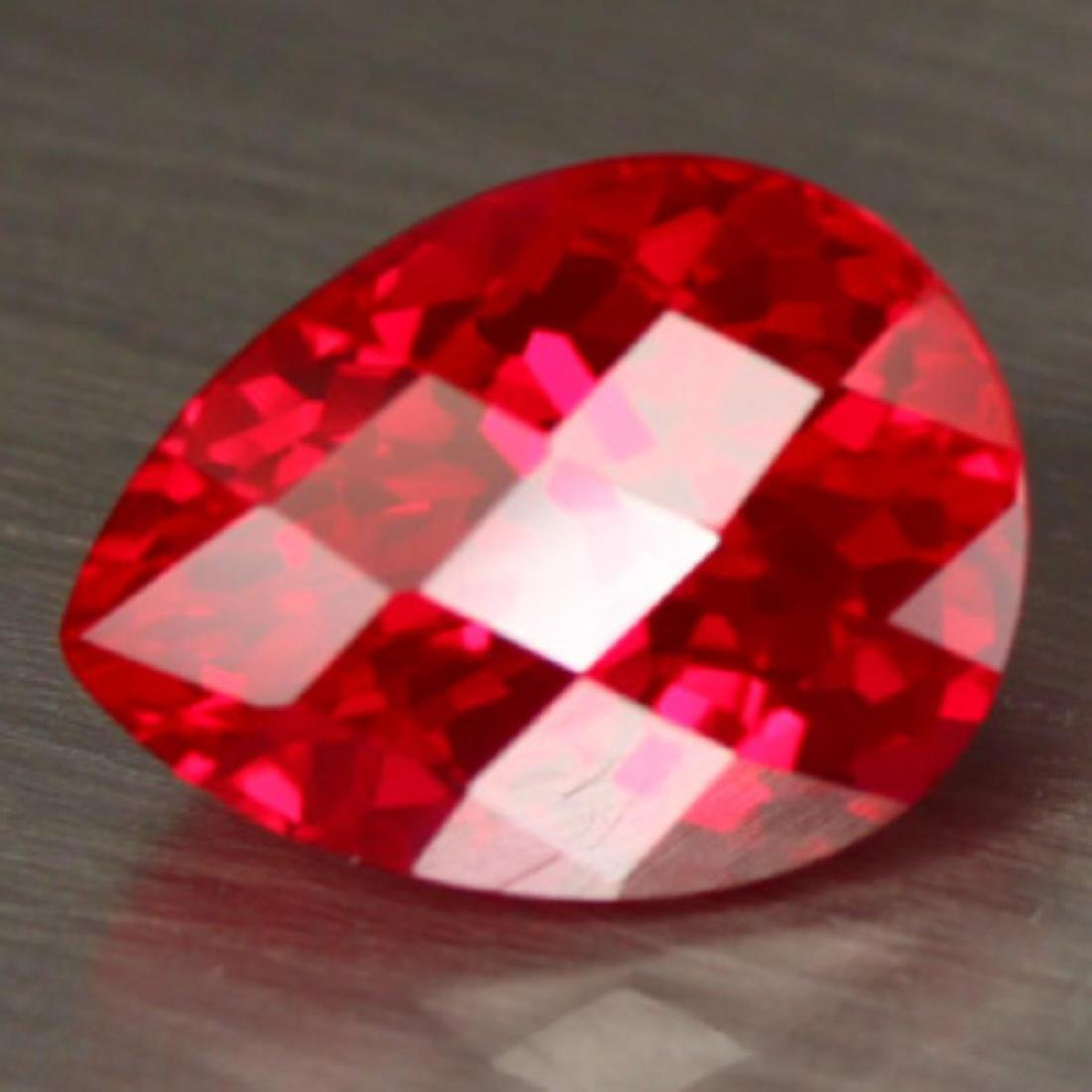 Natural Red Topaz 16.99 Carats - VVS