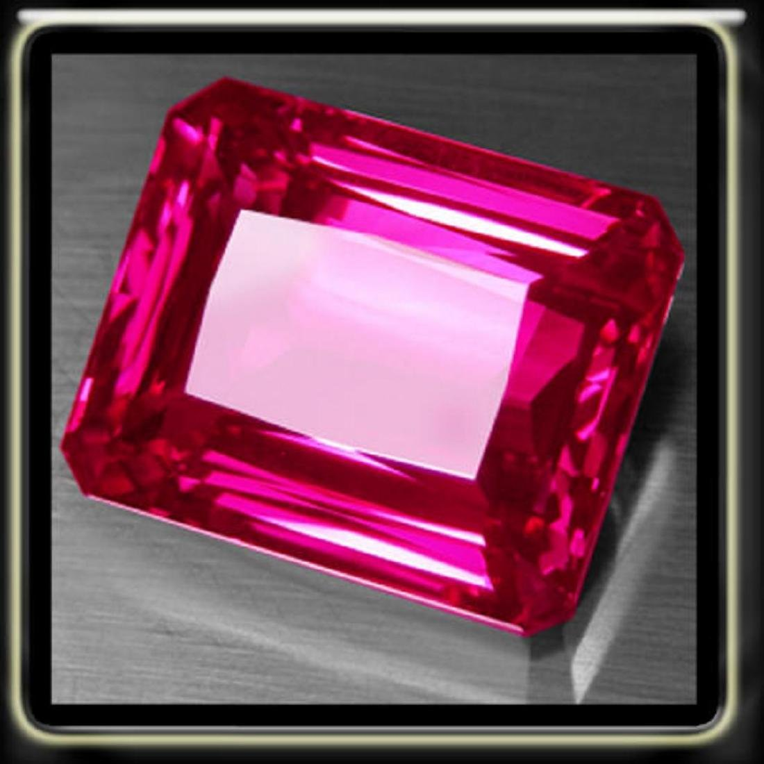 Natural Hot Pink Topaz 20.85 Carats - VVS