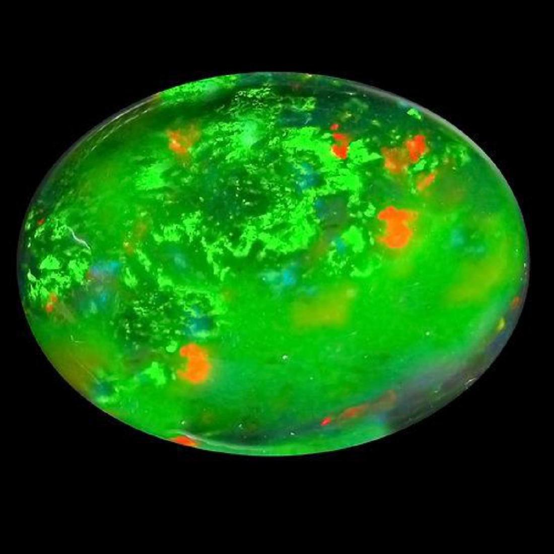 Natural Ethopian Black Opal 9.61 Carats