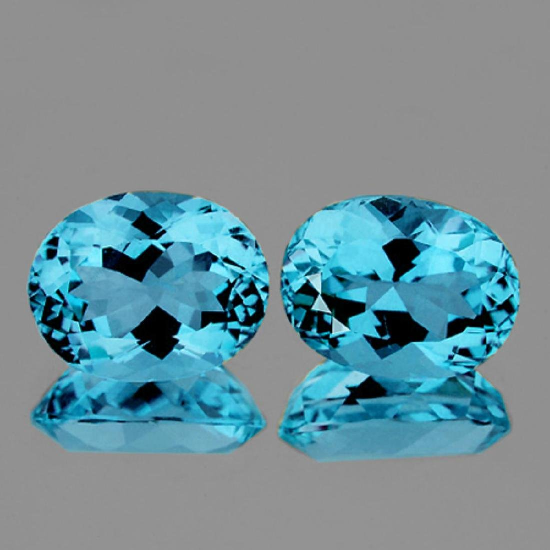 Natural AAA Light Sky Blue Topaz {Flawless-VVS1}