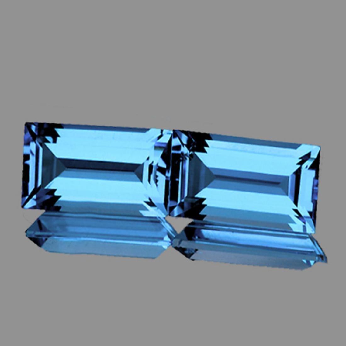 Natutal Best AAA Sky Blue Topaz 12x6 MM - FL
