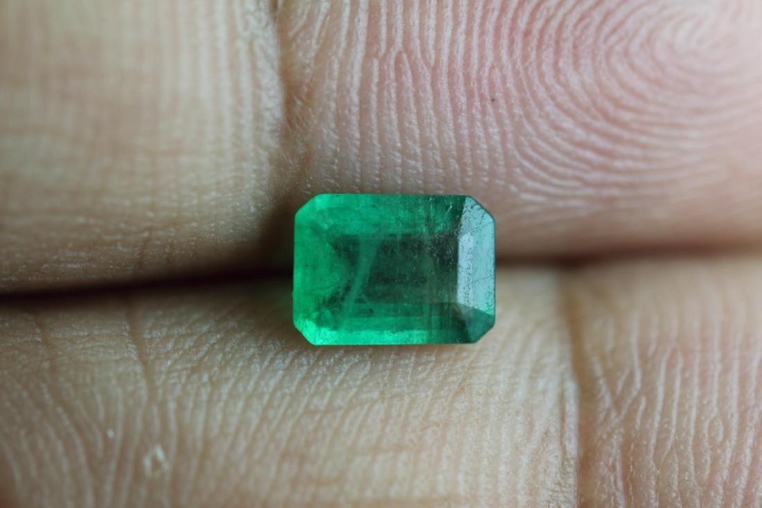 Natural Emerald .83 Carats - no Treatment