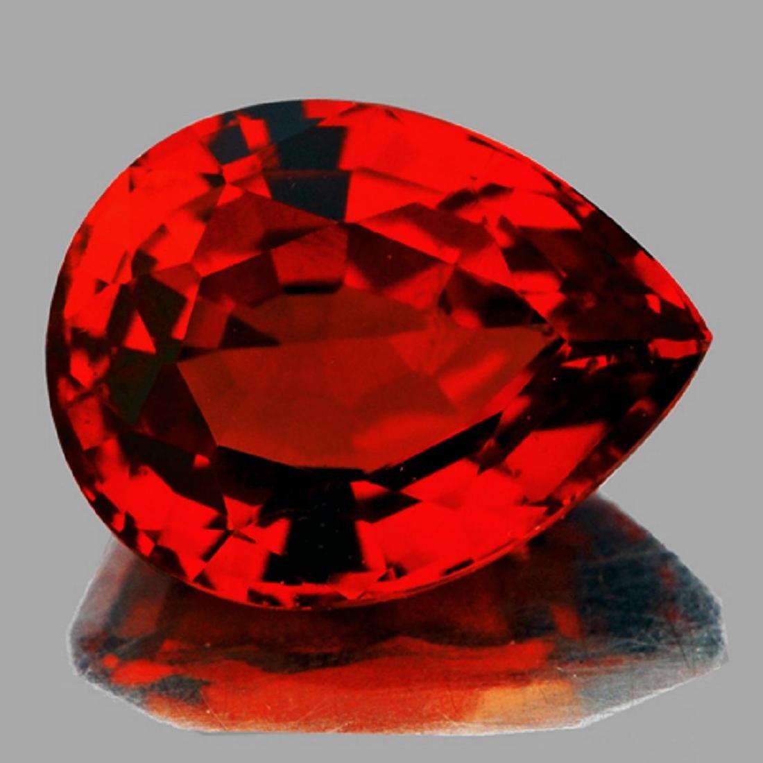 Natural AAA Spessartite Garnet 4.35 Cts - {VVS}