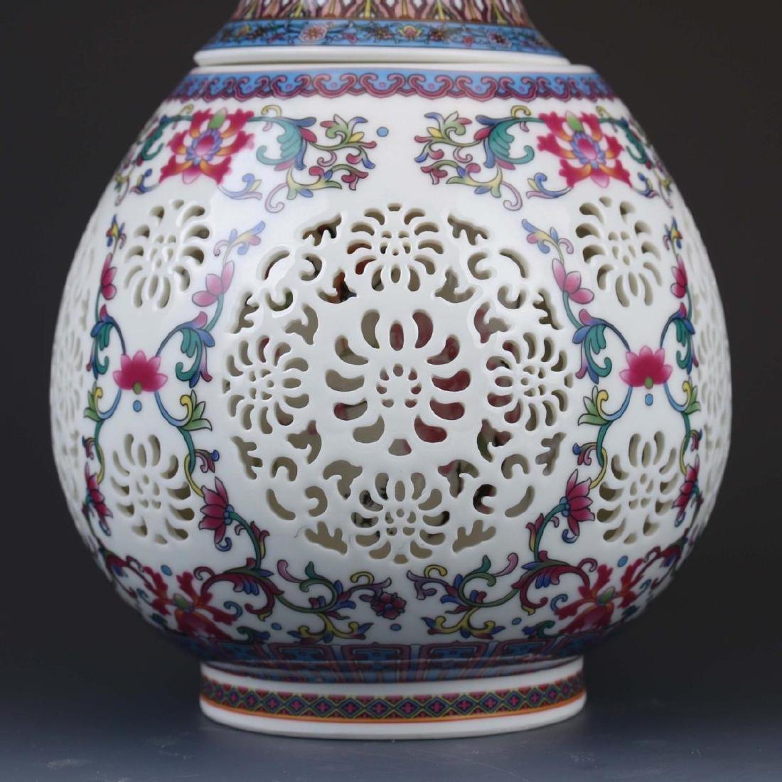 Vintage Chinese Vase - 4