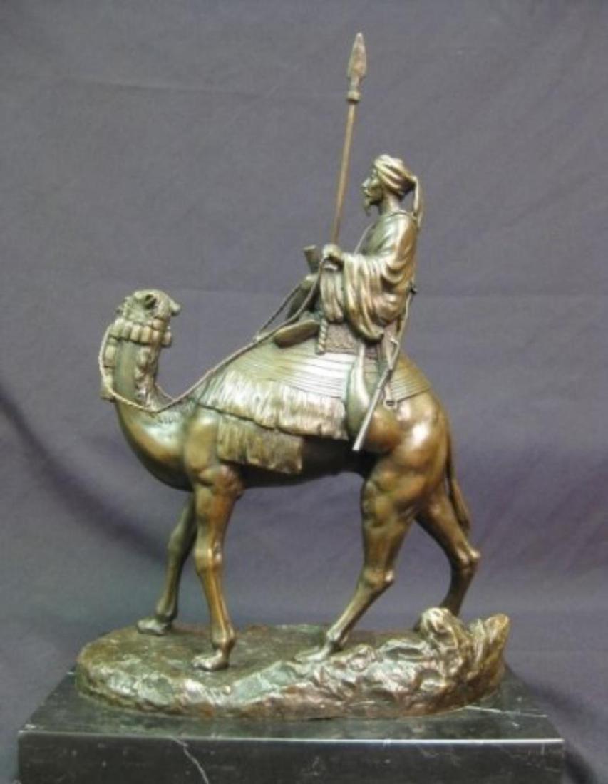 Antique Arab (Muslim) Warrior Sculpture