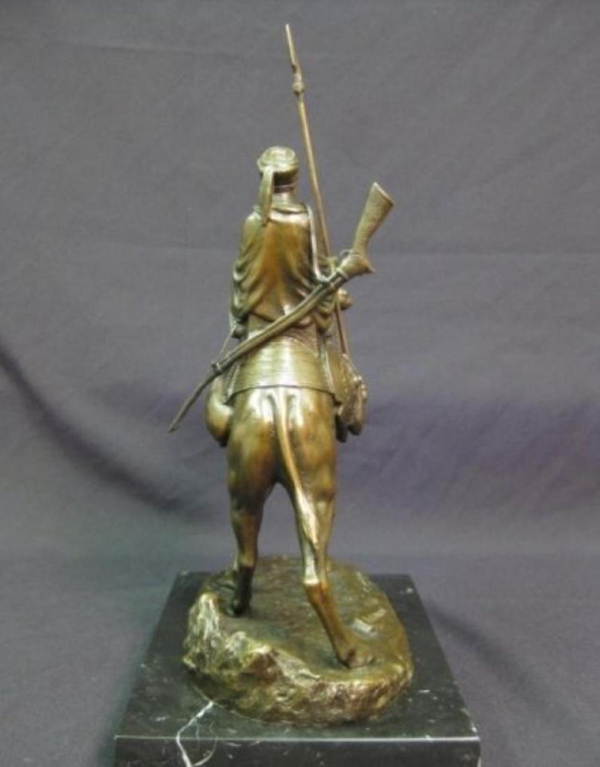 Antique Arab (Muslim) Warrior Sculpture - 3