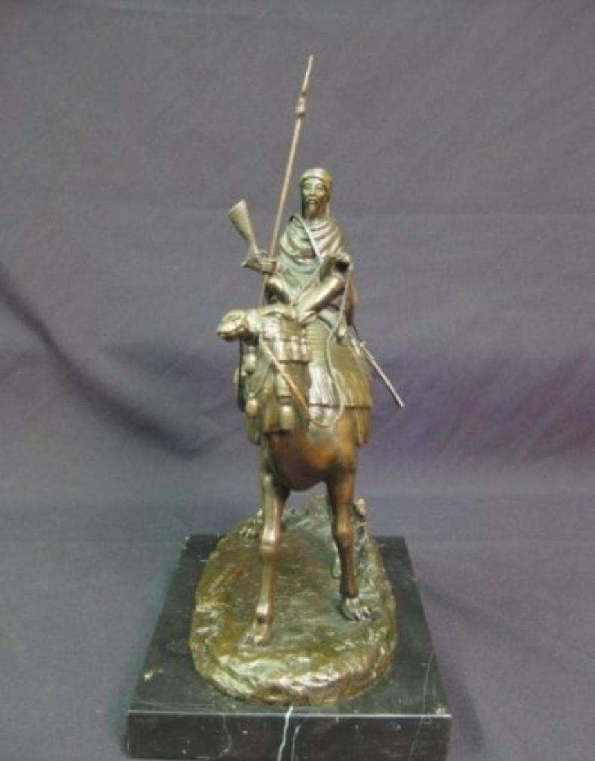 Antique Arab (Muslim) Warrior Sculpture - 4