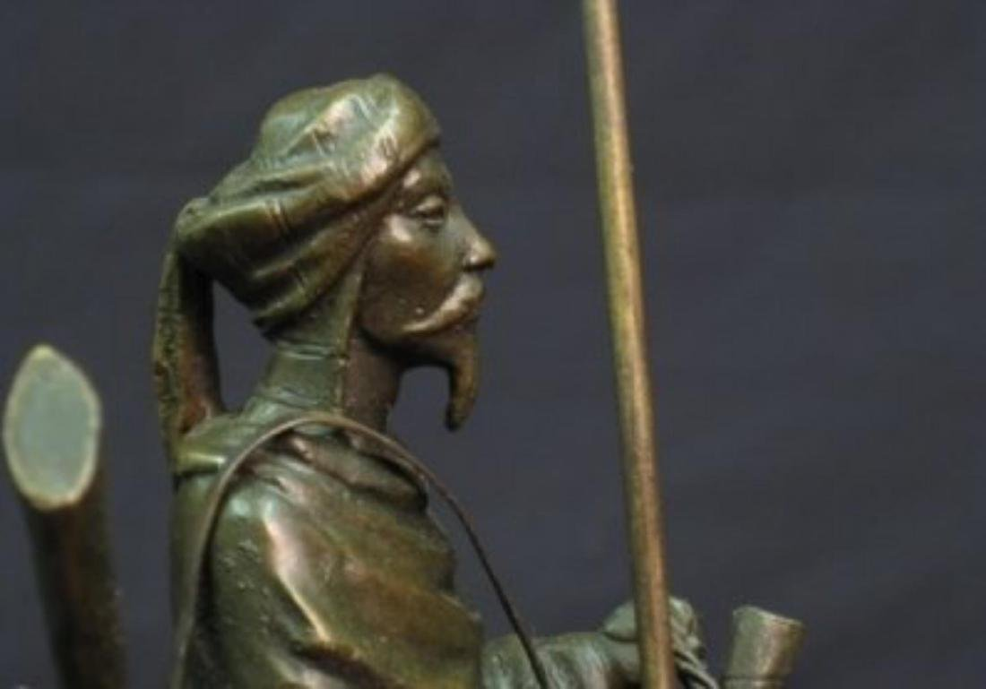 Antique Arab (Muslim) Warrior Sculpture - 6