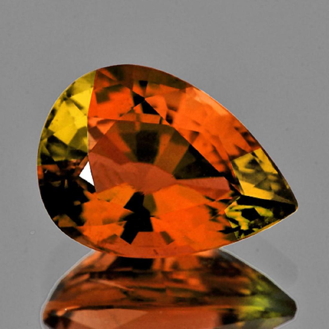Natural AAA Vivid Orange Tourmaline 1.15 Ct - Flawless
