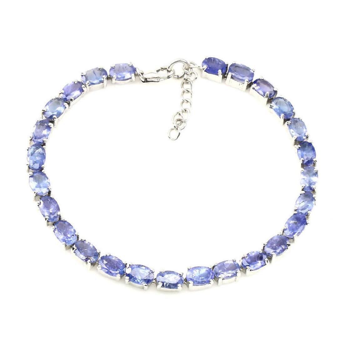 Natural  Blue Violet Tanzanite 55.17 ct  Bracelet - 2