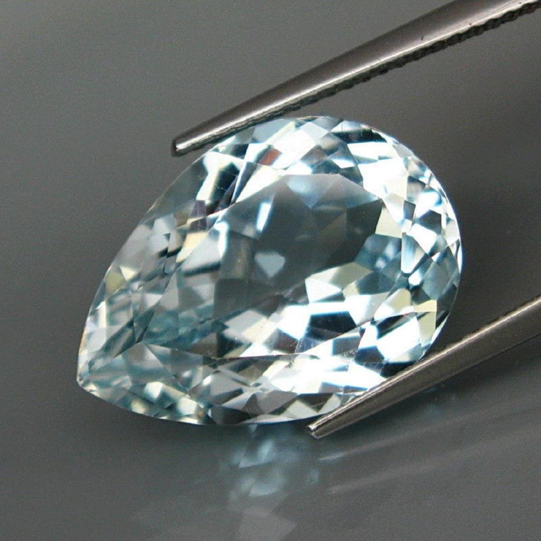 Untreated BIG Aquamarine Color Topaz 15.33 Ct