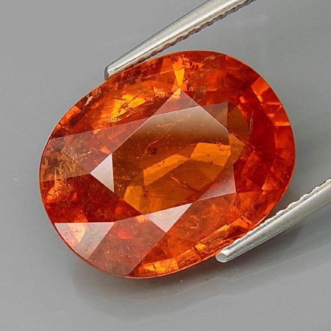 Mandarin Orange Namibian Spessartite Garnet 11.87 CT