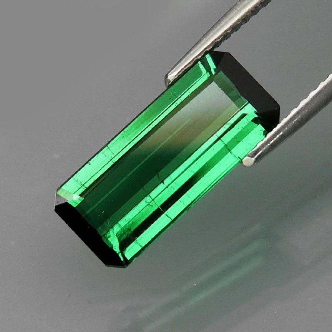 Natural Bluish Green Tourmaline 3.43 Ct