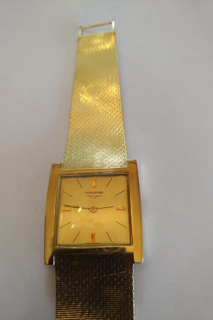 Vintage Longines  (unisex) 18k Solid Gold Watch