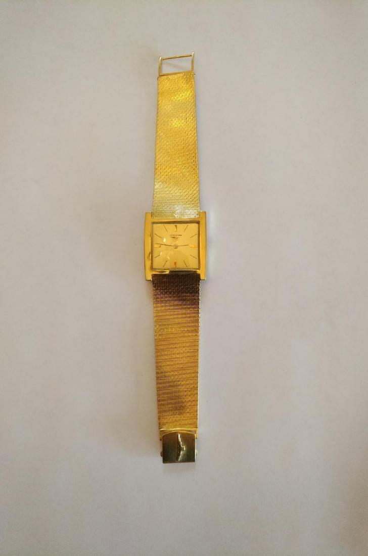 Vintage Longines  (unisex) 18k Solid Gold Watch - 6