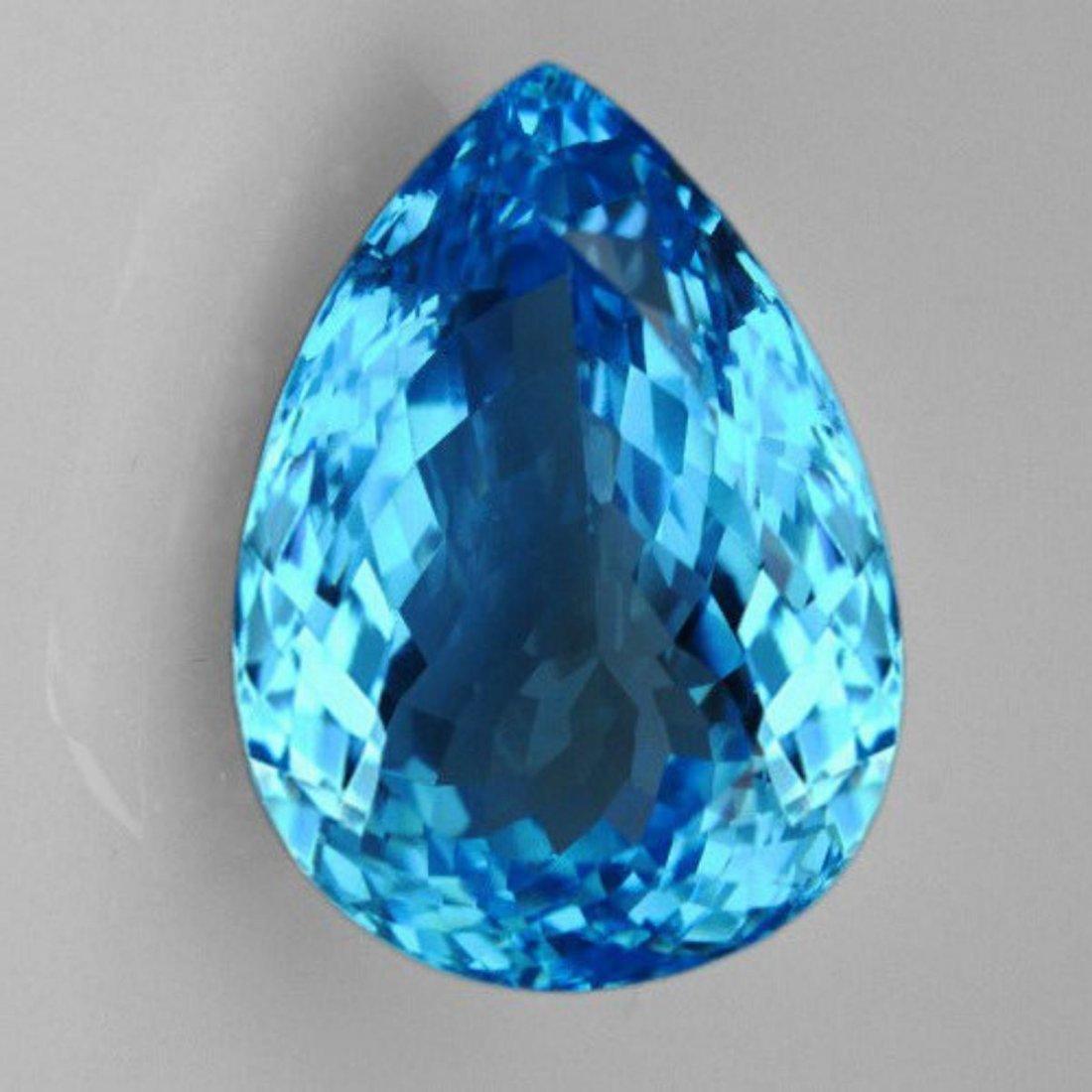 Natural Brillant Cut Sky Blue Topaz 42.05 Ct - VVS