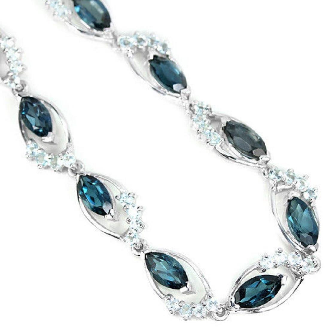 LONDON & SKY BLUE TOPAZ Bracelet - 2