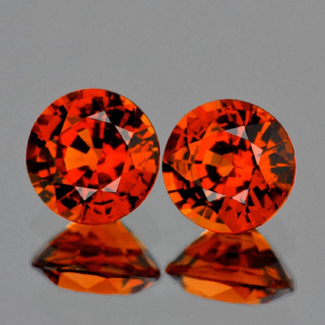 Natural Mandarin Orange Spessartite Garnet 5.20 MM VVS