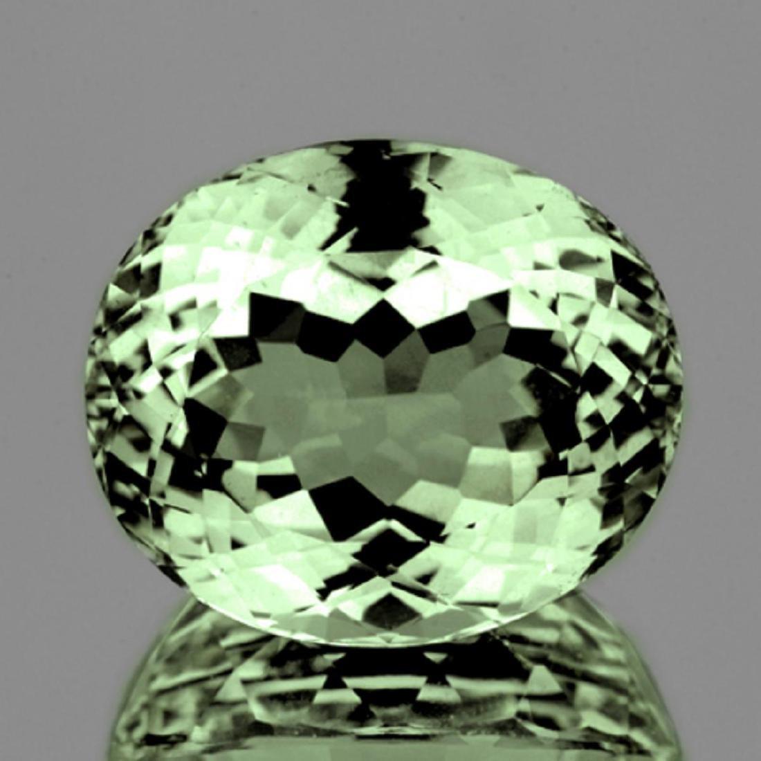 Natural Healing Green Color Amethyst 15.80 Cts - VVS