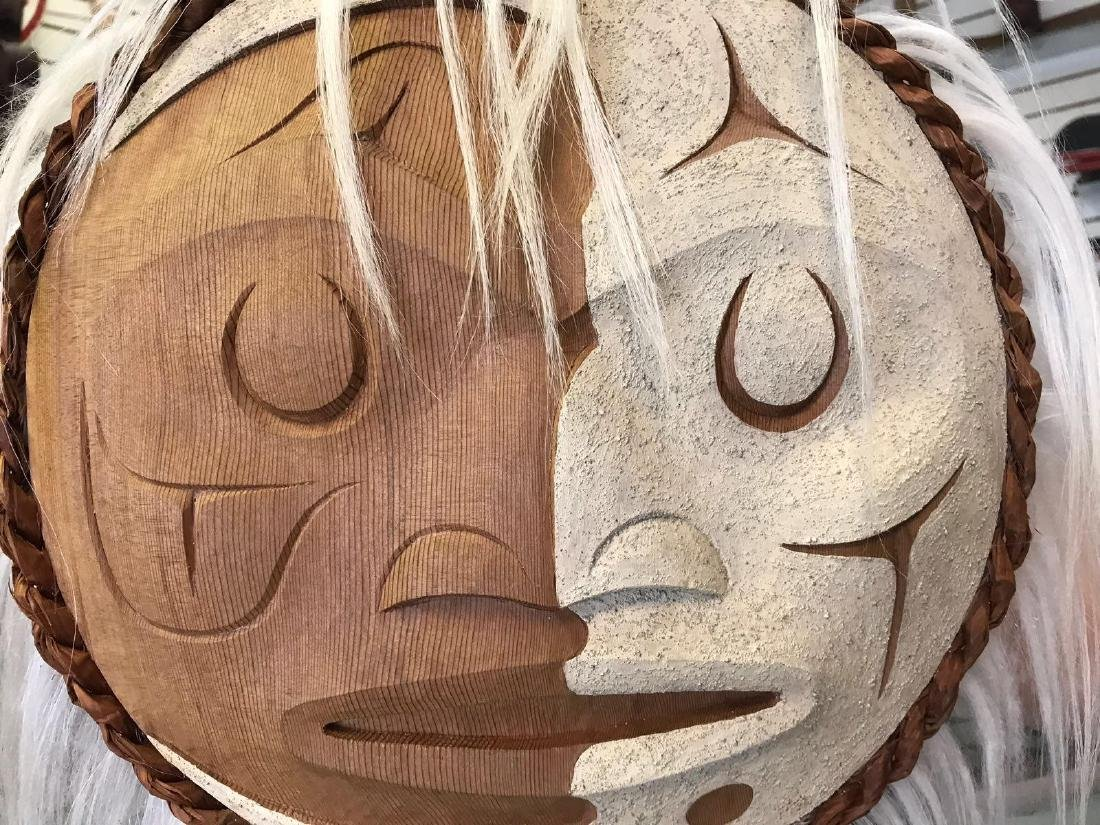 West Coast Native Winter Moon Mask