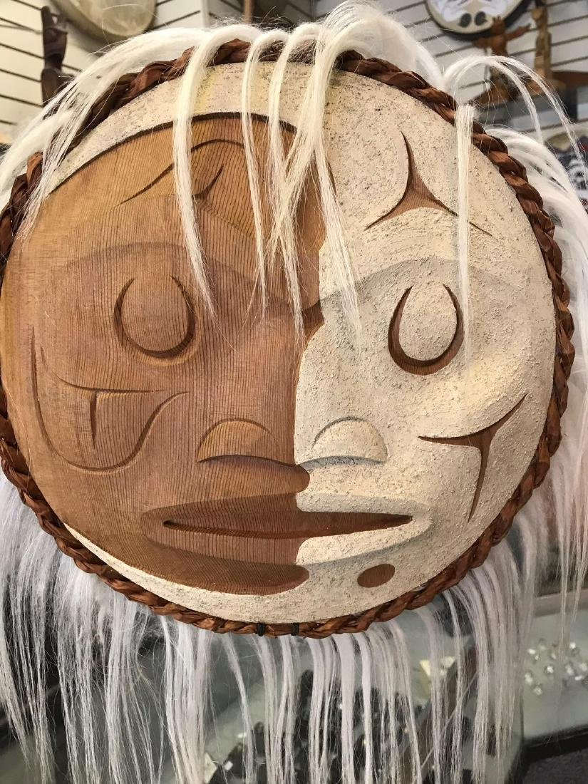 West Coast Native Winter Moon Mask - 2