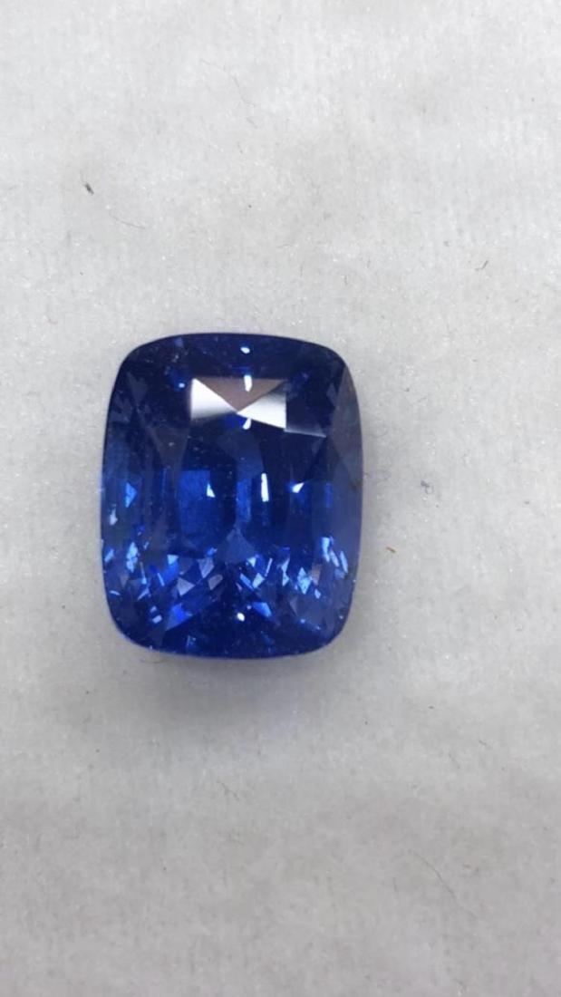 Natural Blue Kaskmir Sapphire - Certified