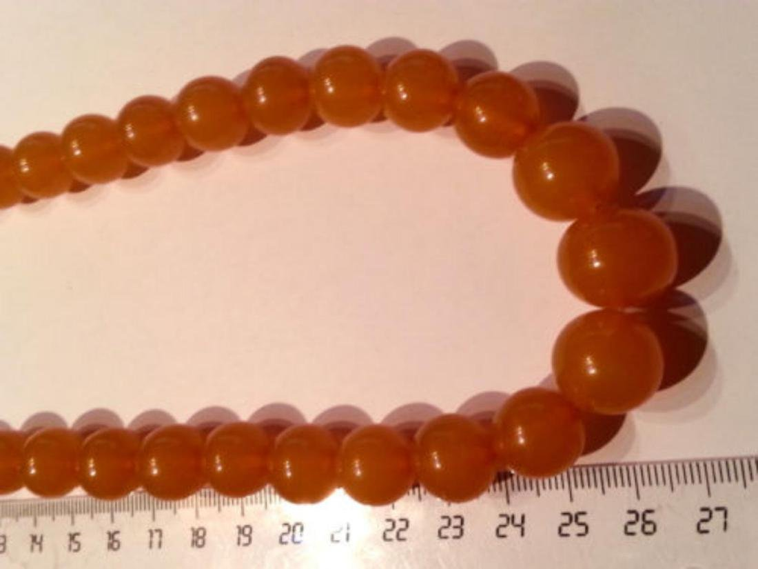 Vintage Natural Baltic Amber Beads Necklace 55.00 Grams - 3