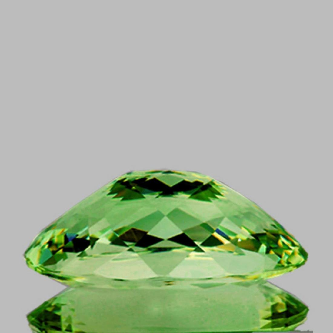 Natural AAA Untreated Green Apatite 9.68 Cts - VVS - 2