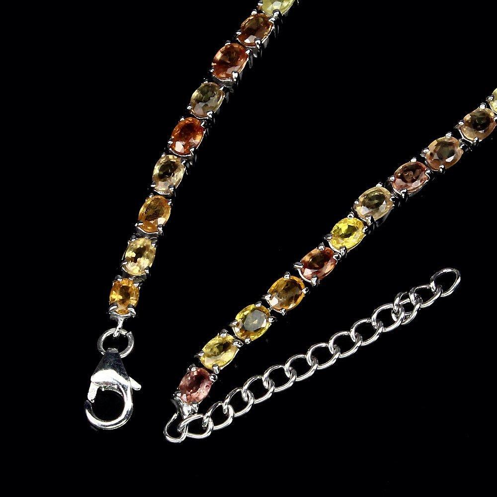 Natural Fancy Color Sapphire Bracelet - 3