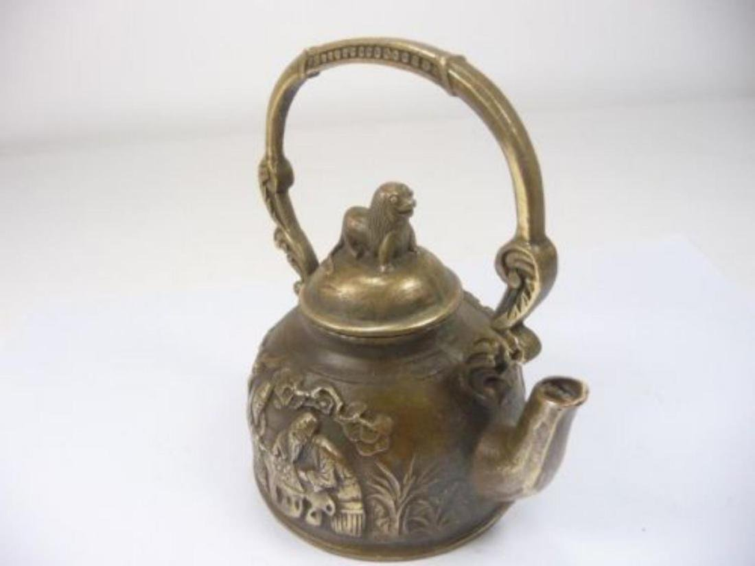 Old Chinese Teapot/Winepot - 5