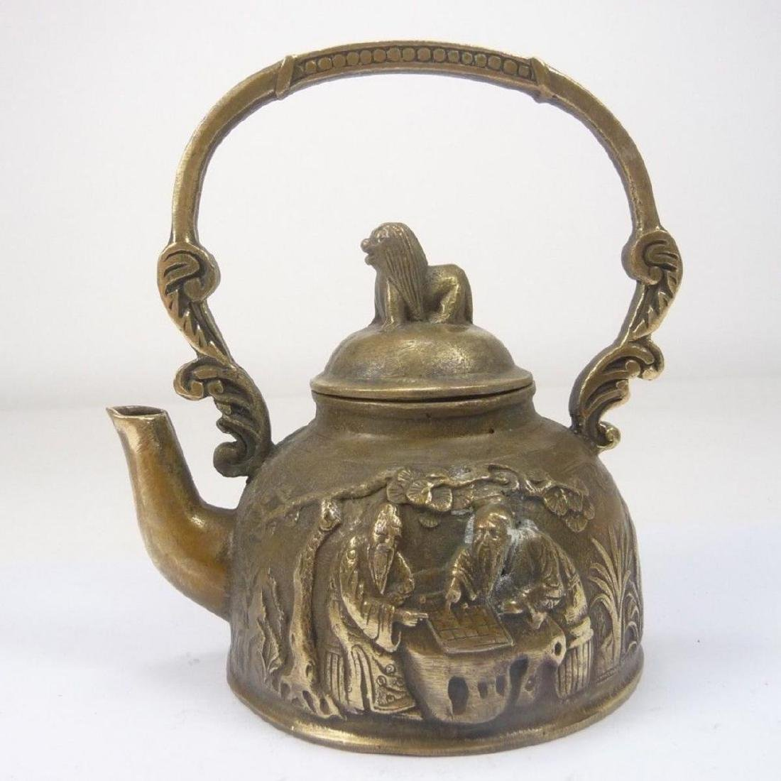 Old Chinese Teapot/Winepot - 7