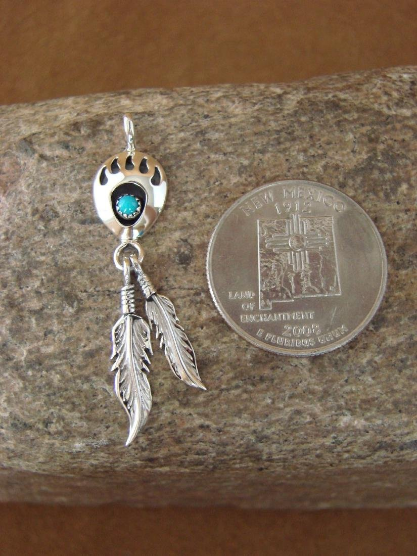 Native American Jewelry Natural .925 Sterling Silver - 3