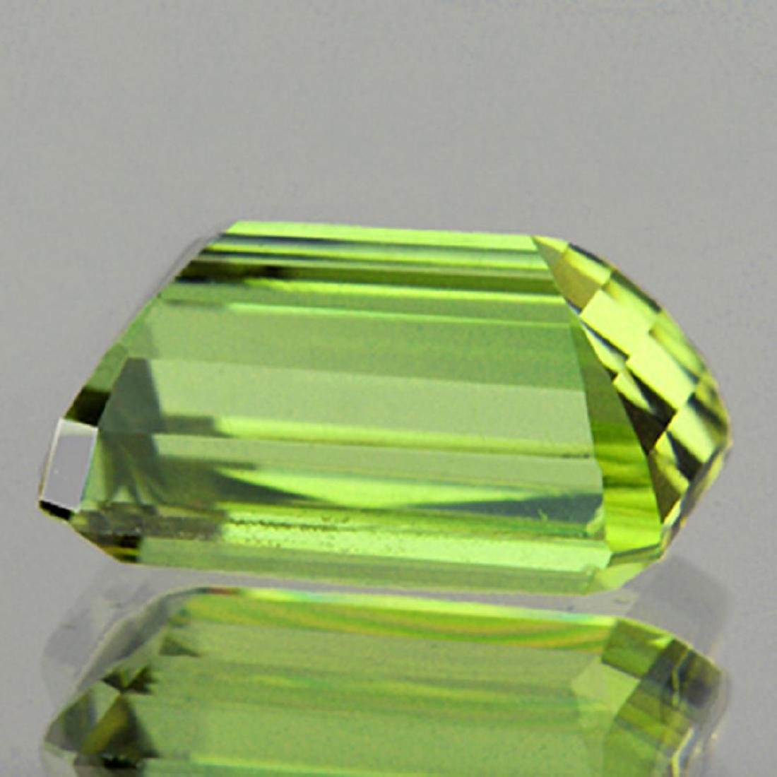 Natural Canary Green Apatite 5.13 Cts - VVS - 2