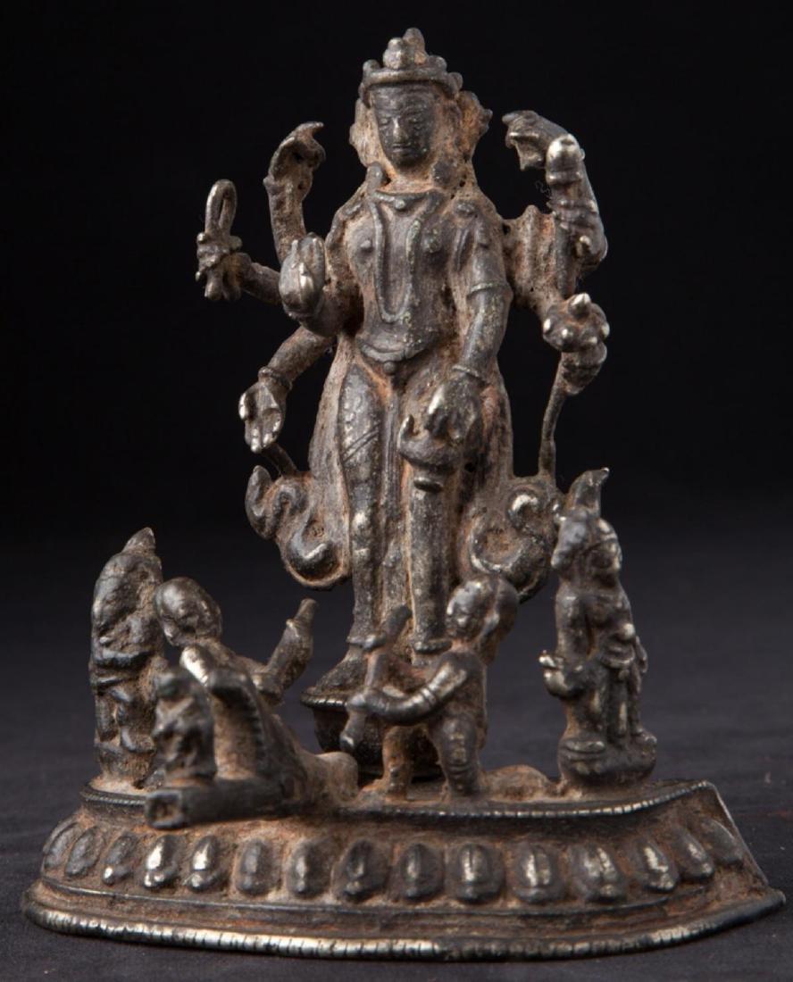 Antique Hindu God Statue - 2